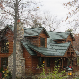 Country Manor Shake – Color Forest Green