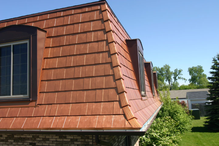 Oxford Shingles On A Mansard Roof