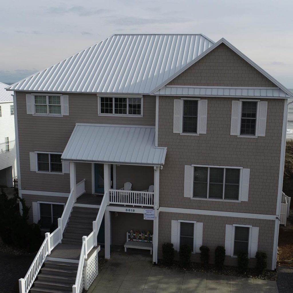The Difference Between Shingle and Standing Seam Metal Roofs