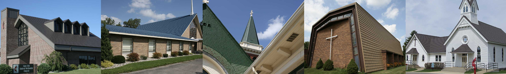 Churches with Metal Roofs