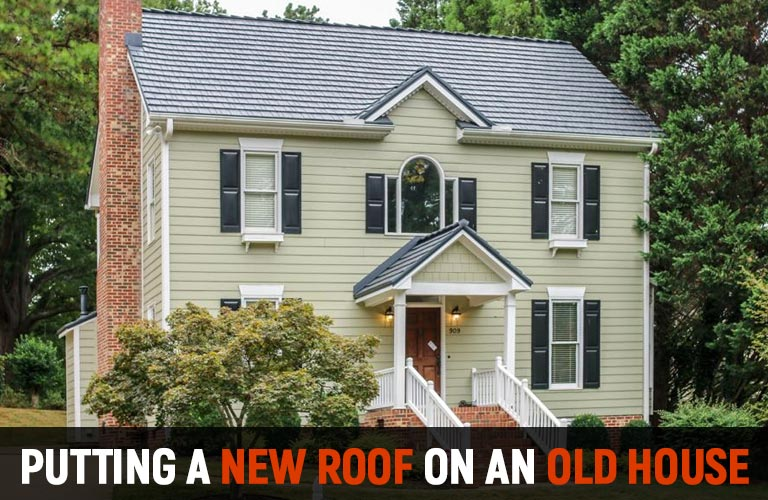 Old House Metal Roofing McCarthy Metal Metal Roofing of NC